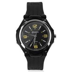 Allwin Fashion Waterproof 30 M LED Watches QUARTZ Digital ElectronicWatch Jam Tangan Hitam-Internasional