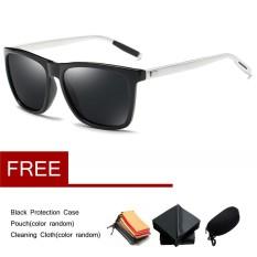 Aluminium Pria Terpolarisasi Mengemudi Kacamata Hitam Olahraga Kacamata Retro Kacamata Kacamata-Internasional