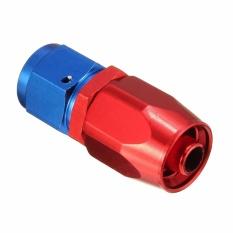 Aluminium An6 Lurus Bahan Bakar Gas Swivel Oil Hose End Fitting Line Adapter 0 Derajat-Internasional By Autoleader.