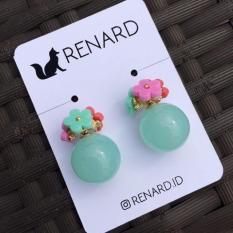 Amarise Earring / Anting Manis / Anting Bulat / Anting Cantiks / B2909A2N