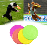 Toko Amart 2 Pcs 17 5Cm Safe Funny Pets Toy Dogs Flying Disc Pet Dog Soft Frisbee Intl Lengkap