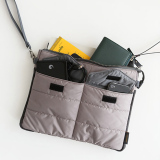 Jual Beli Online Amart Organizer Sleeve Pouch Storage Ipad Bag Travel Ipad Mini Soft With Handles Grey Intl