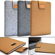 Toko Amart Lembut Tas Laptop Pelindung Anti Gores Untuk 15 Inci Macbook Air Laptop Tablet Khaki International Terlengkap Dki Jakarta