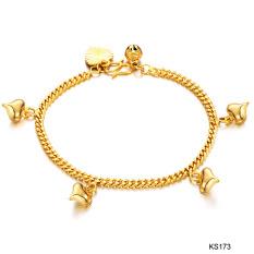 Amart Aksesoris Perhiasan Gelang untuk Wanita, China Emas 18 Karat With Gantungan Lonceng Conscience-Internasional