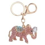 Harga Menakjubkan Tas Gajah Pendant Dompet Tas Gesper Gantungan Kunci Keyrings Pink Intl