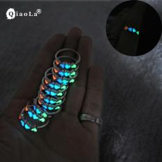 Amefurashi Girls Glow In The Dark Hollow Multi Colorful Love Finger Ring
