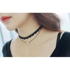 Amefurashi Kalung Cantik & Manis Choker A27 Simple Necklace Pendant
