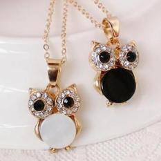 Amefurashi Kalung Korea Burung Hantu Small Owl Beauty Necklace