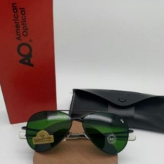 American Optical - Sunglasses Polarized For Men Avfiators Type8600 - Hijau