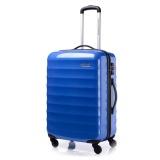 Jual American Tourister Koper Para Lite Spinner 66 24 Snorkel Blue Branded Original