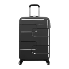 American Tourister Puzzle Cube Spinner 58 Luggage Charcoal Indonesia