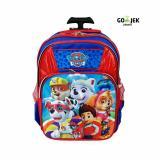 Jual Amt Tas Troli Sekolah Anak Sd Paw Patrol Kualitas Premium Branded Original