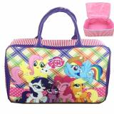 Beli Bgc Travel Bag Kanvas My Little Pony Pinkie Piekotak Kotak Purple Rainbow Banten