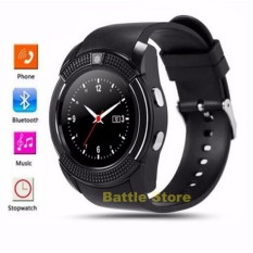 Jual Android Smartwatch V8 V8 Smart Watch Bluetooth Sim Card With Memory Card For Android Ios Hitam Smart Watch Ori