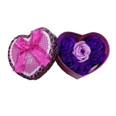 Jual Anekaimportdotcom Buket Bunga Valentine Days Small Ungu Termurah