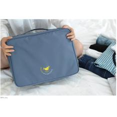 Spesifikasi Angel Partition Trunk Bag Size L Tas Tambahan Koper Travel Bag Kit Whale Blue Merk Angel