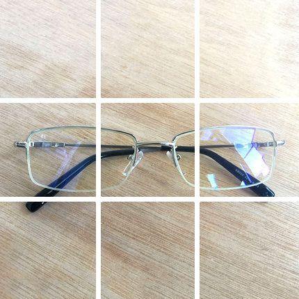 Anti Radiasi kacamata Pria kaca polos kacamata blu-ray-proof tanpa derajat  cermin datar cfd27843aa