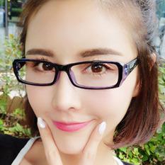 Kacamata Komputer Pelindung Mata Anak Lensa Polos Anti Radiasi Blue Ray Bingkai Warna Hijau
