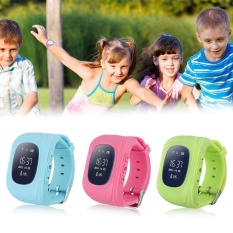 Anti Lost Children Smart Wrist Watch Gsm Positioning Q50 For Android Ios Intl Diskon Tiongkok