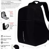 Harga Anti Theft Backpack Laptop Bag 17 Inch Tas Ransel Anti Maling Pria Wanita Daypack 71024 U Online Jawa Barat