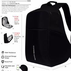 Harga Anti Theft Backpack Laptop Bag 17 Inch Tas Ransel Anti Maling Pria Wanita Daypack 71024 U Origin