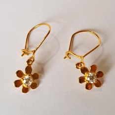 Anting Emas Asli Kadar 875 Flower