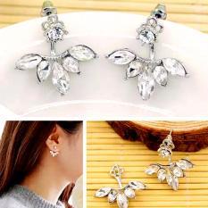 Anting Fashion Silver Layer Five - Aksesoris Trendy Import Korea Pesta Pria Wanita Kado Murah
