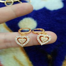 anting love mata xuping cantik