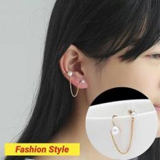 Anting Mutiara Cantik Modis Elegant Design Korea Keren Stylish