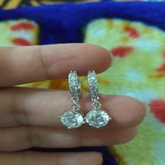 Model Anting Silver Xuping Permata Terbaru