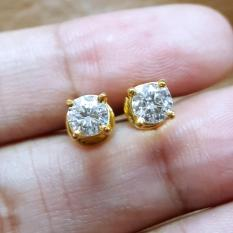 Anting-solitaire-berlian-eropa-0,68ct-ikat-emas-kuning-AT003