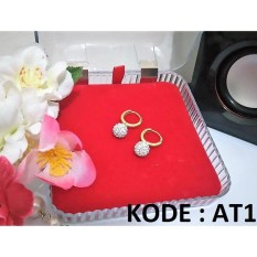Anting Titanium AT18 ANTI KARAT SELAMANYA