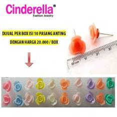 Anting Tusuk Rose Kecil Grosir Per Box / Anting Tusuk Grosir Per Box
