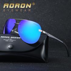 Promo Aoron 12 Warnd Terpolarisasi Kacamata Hitam Fashion Unisex Desain Mayor Penglihat Haid Merek Kacamata Wanita Oculos De Sol A143 Perak Oem Terbaru