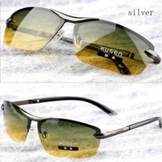 Aoron Polarized Sunglasses Siang dan Malam Vision Multifungsi Mengurangi Silau Goggles LOGO Original Box Eyewear De Sol 289-Intl