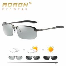 Aoron Baru Fashion Mewah Kemasan Berubah Warna Kacamata Terpolarisasi Mengemudi Kacamata 3043 Intl Tiongkok