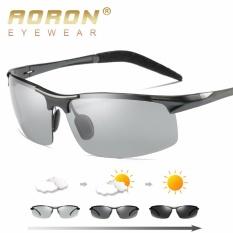 Harga Aoron Baru Fashion Mewah Kemasan Berubah Warna Kacamata Terpolarisasi Mengemudi Kacamata 8177 Intl Baru Murah