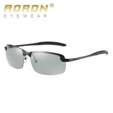 AORON Photochromic Sunglasses Unisex Polarized Perubahan Warna Eyewear 2017 Pria dan Wanita Anti Glare Sun Glass HD Mengemudi Goggles 3043- INTL