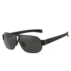 AORON Kacamata Terpolarisasi Santai Pria UV400 Oculos Kacamata Pria Keren Desain Klasik Aksesoris Kacamata 8516 (Hitam) Kacamata Hitam [membeli 1 Mendapatkan 1 Hadiah]