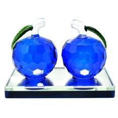 Apple Crystal Car Parfume / Parfum Mobil - Dark Blue