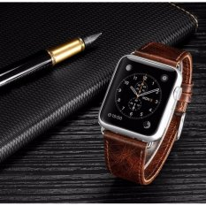 Review Toko Apple Watch Band 42Mm Asli Heritage Leather Strap Intl