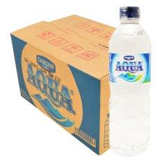 Toko Aqua Botol Air Mineral 600Ml Karton Isi 24 Lengkap