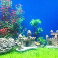 Tanaman Hiasan Dinding Gelembung Aquarium Mangkuk Tangki Ikan Akuarium (Transparan). Source .