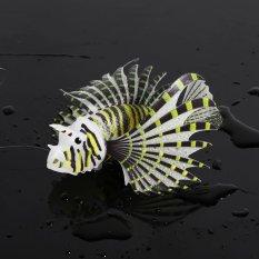 Top 10 Aquarium Silikon Palsu Ikan Tank Lanskap Dekorasi Glow Hewan Ornamen Hitam Online