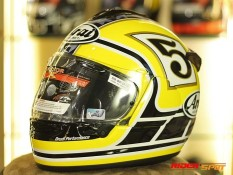 Arai Vector-X Edward Tribute Yellow