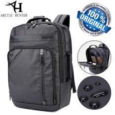 Kualitas Arctic Hunter Tas Ransel Laptop Premium Executive Business Backpack Oxford Ah Eb Bisnis Hitam Arctic Hunter