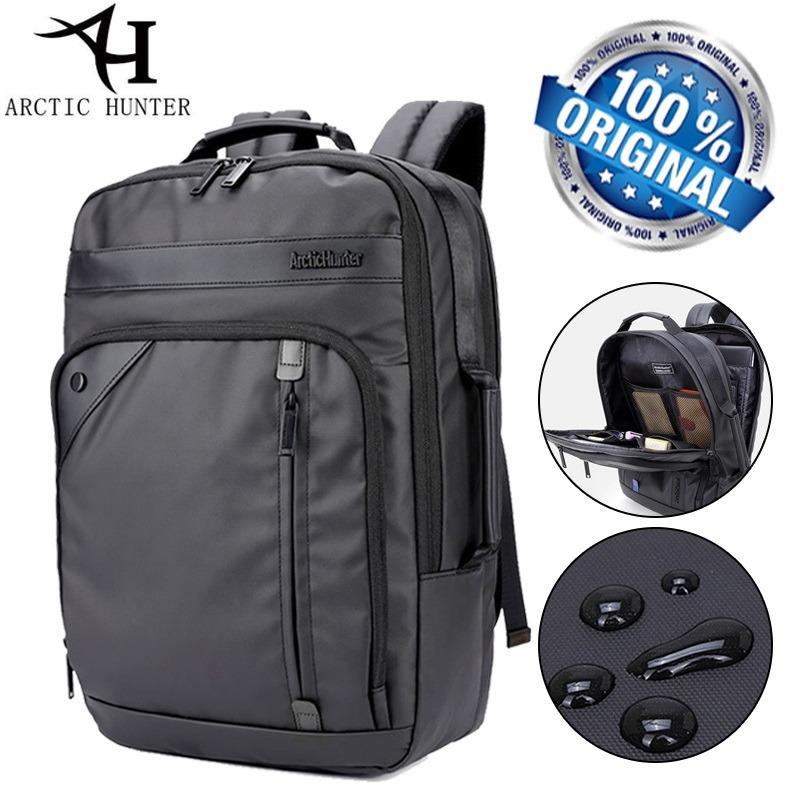 Arctic Hunter Tas Ransel Laptop Premium Executive Business Backpack Oxford AH-EB Bisnis - Hitam