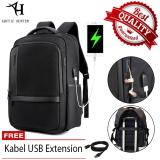 Spesifikasi Arctic Hunter Tas Ransel Laptop Premium Executive Oxford Backpack Anti Air Dan Usb Charge Support Ah B Hitam Murah Berkualitas
