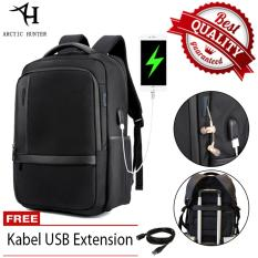 Ulasan Lengkap Tentang Arctic Hunter Tas Ransel Laptop Premium Executive Oxford Backpack Anti Air Dan Usb Charge Support Ah B Hitam
