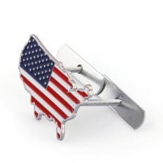 Rp 78.000. Areyourshop 3D Metal Front Emblem Grill Stiker Emblem Kap Mobil Bendera Amerika Serikat Amerika Serikat-IntlIDR78000. Rp 86.000